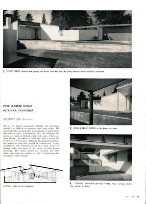 gregory ain altadena - park planned homes - progressive architecture 7
