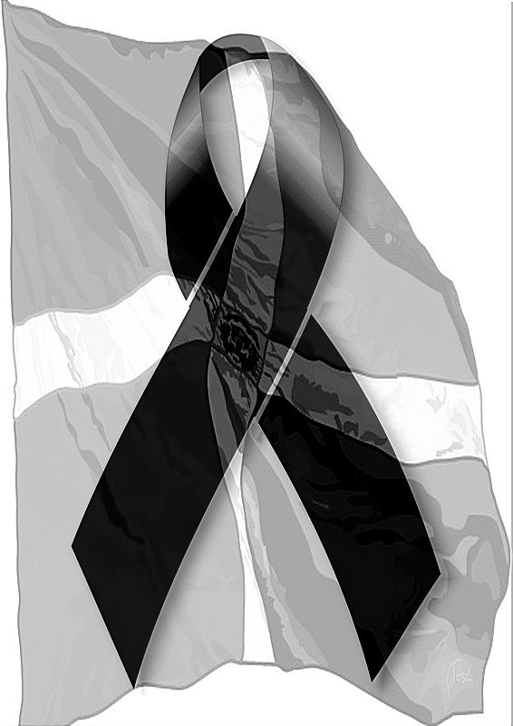 Imagen insignia de luto - Imagui