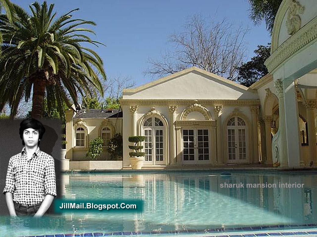 The Swimming Pool Inside Sharukh Khan House. Click On The Image To Enlarge