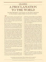 A PROCLAMATION TO THE WORLD
