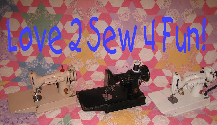 Love 2 Sew 4 Fun - Newbie at Sewing with My Singer Featherweight