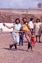 Dos pilotos divertidos años 70