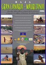 cartel promoción Baja Canaria Mauritania