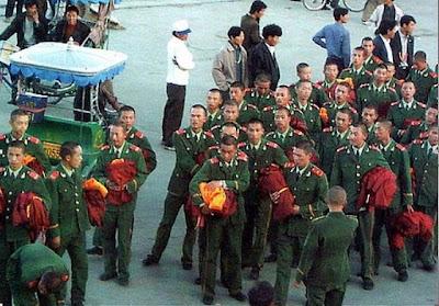 Tíbet: foto manipulada