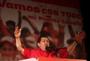 El presidente de la República Bolivariana de Venezuela, Hugo Chávez