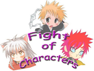 fight of characters