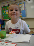 Ian celebrates his b'day at school