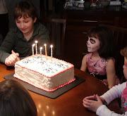 Skull and Crossbones Birthday Cake for a 5yearold Girl!