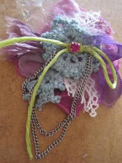 fabula recycled brooch