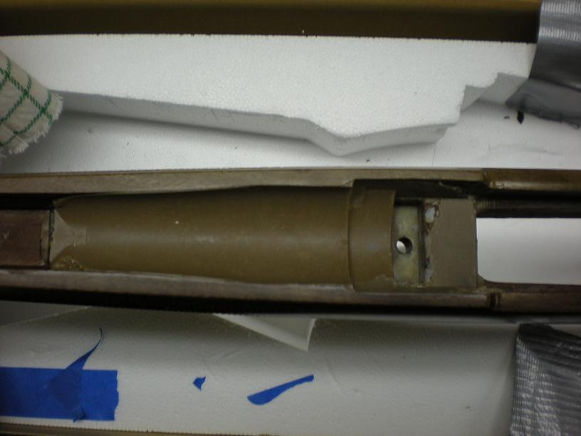 hunting etc reinforcing your big bore rifle s stock