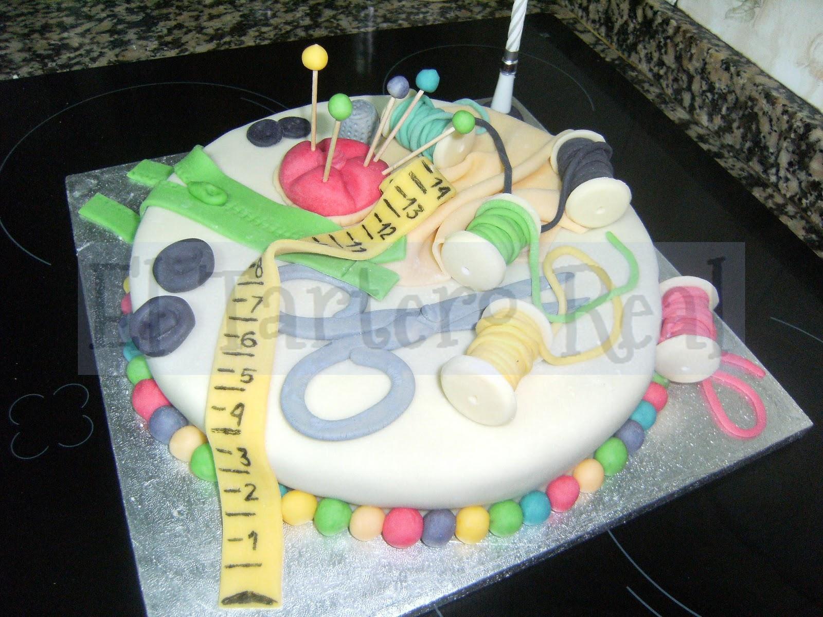 El Tartero Real: tarta de cumpleaños para una modista
