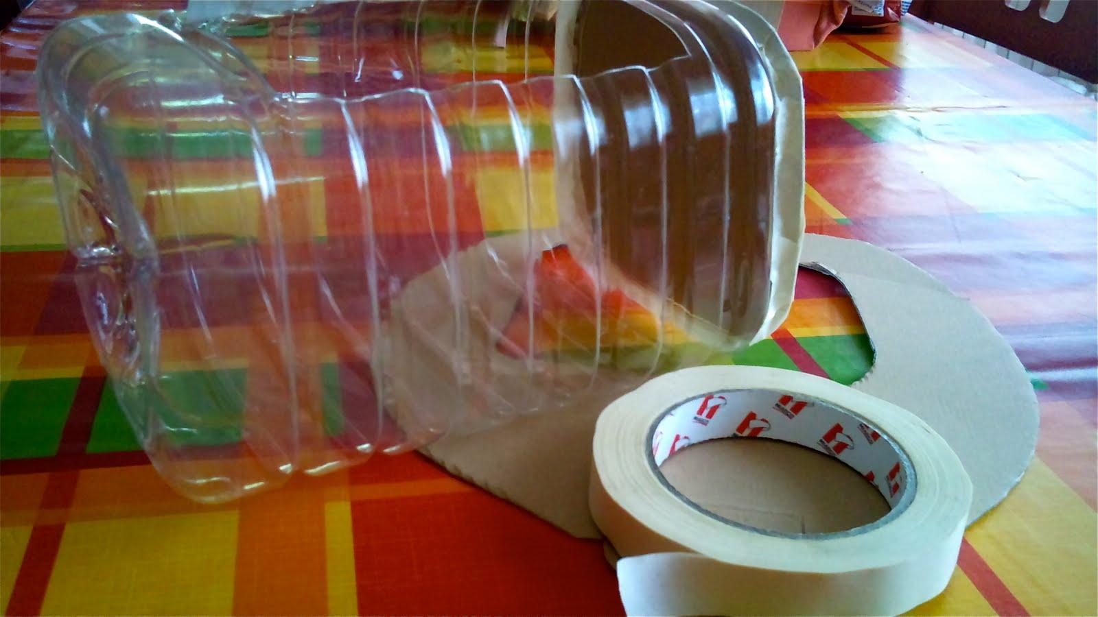 Ideas con gracia ba l forrado con telas o pintado - Baul de plastico ...