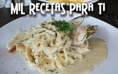 Image Result For Receta Para Pasta Marinera En Salsa Blanca