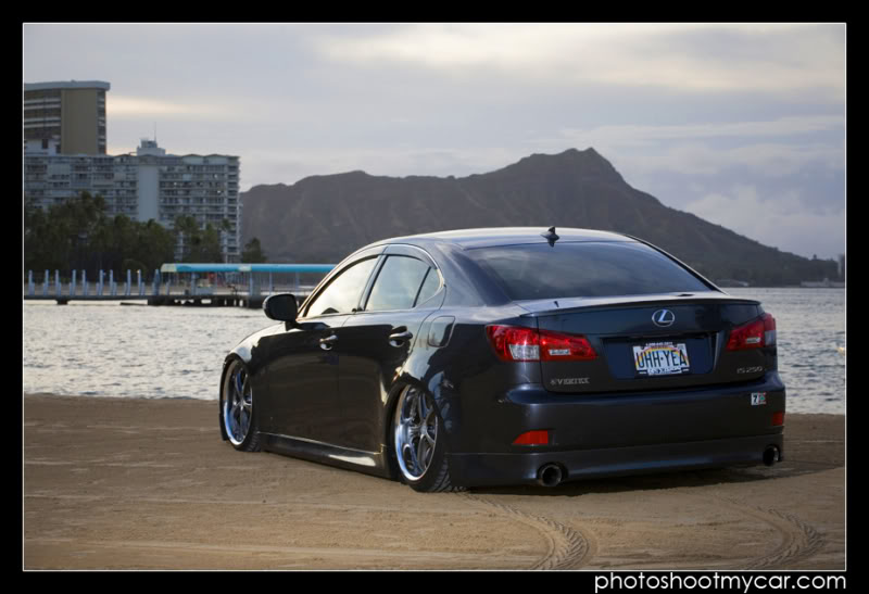 lexus is 250 black rims. One magnificent IS250 that