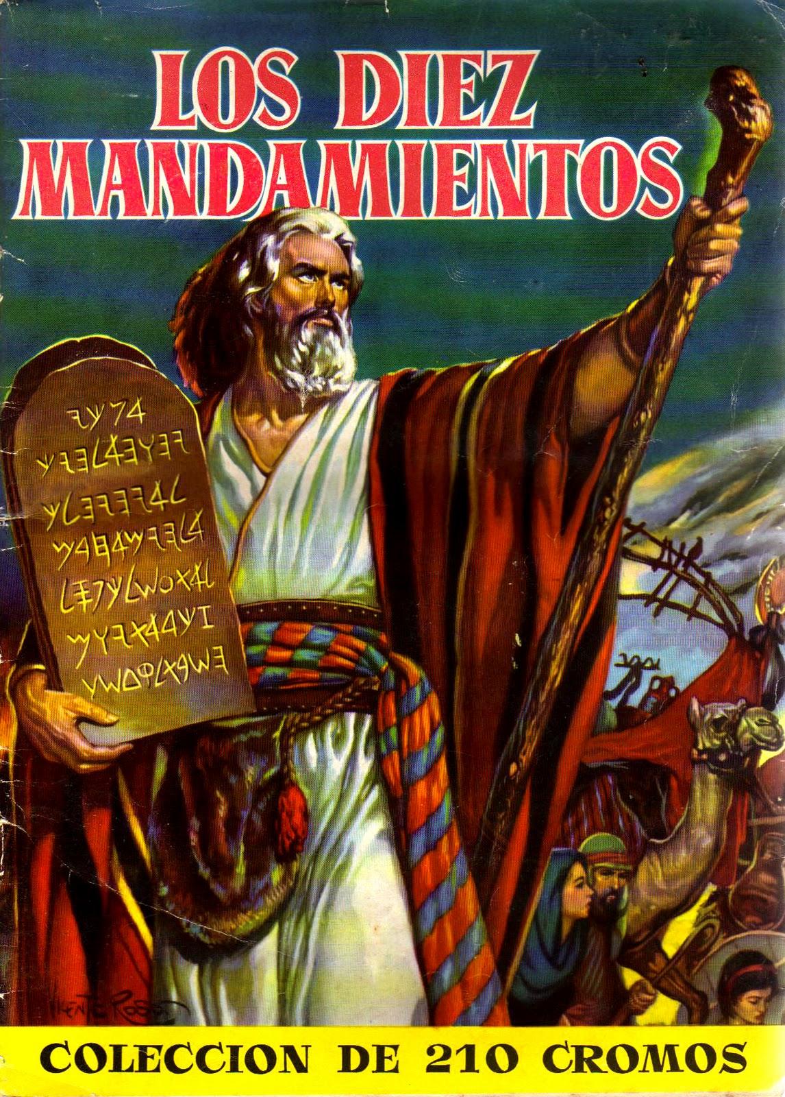 Vintage album de los diez mandamientos - Los 10 locos mandamientos ...