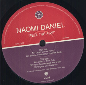 Naomi Daniel :: Feel The Fire
