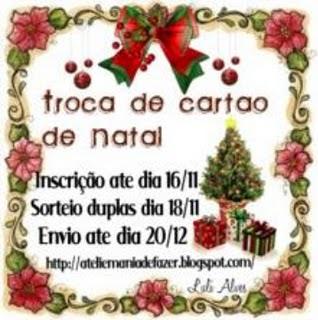 troca de cartões da Luli Alves