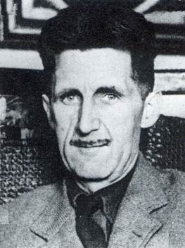 Eric Blair is much better known by his pen name, George Orwell