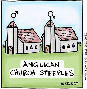 Anglican Church Steeples