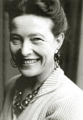 Simone de Beauvoir (París, 1908 / 1985). El problema de la dona sempre ha estat un problema d'homes