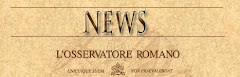 EL OBSERVATORIO ROMANO - NOTICIAS