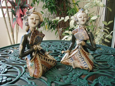 Java wedding couples Ceramic Handicraft