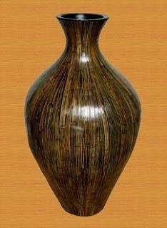 Antique flower vase of Natural Handicraft_001