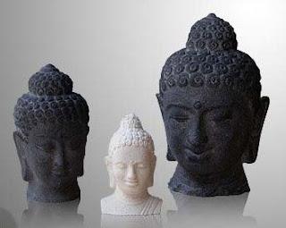 Borobudur Relief & Buddha Statues of Natural Handicraft_002