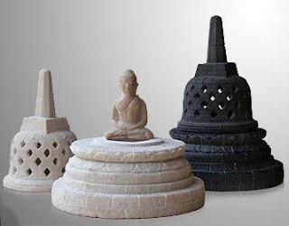 Borobudur Relief & Buddha Statues of Natural Handicraft_001