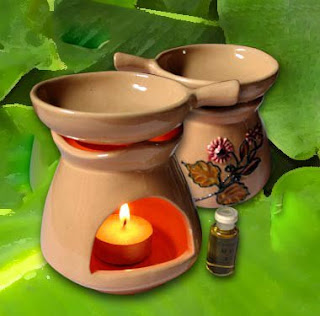 Greentea aromatherapy candle