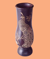 Cheap Flower Vases, wood handicraft