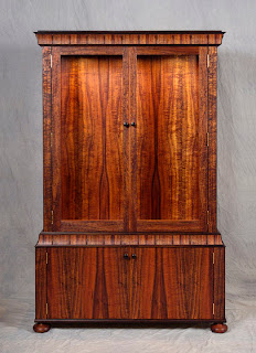 Antique wardrobe minimalist, Antique, Antique Handicraft, wood handicraft