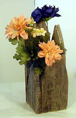 Wooden flower vase zoom, wood handicraft, Vase, Antique Flower Vase, Handicraft