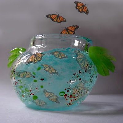 Design a unique glass vase, Modern Vase, Vase, Glass Handicraft, Handcraft, Handicraft Design
