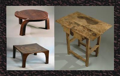 Antique wood table design