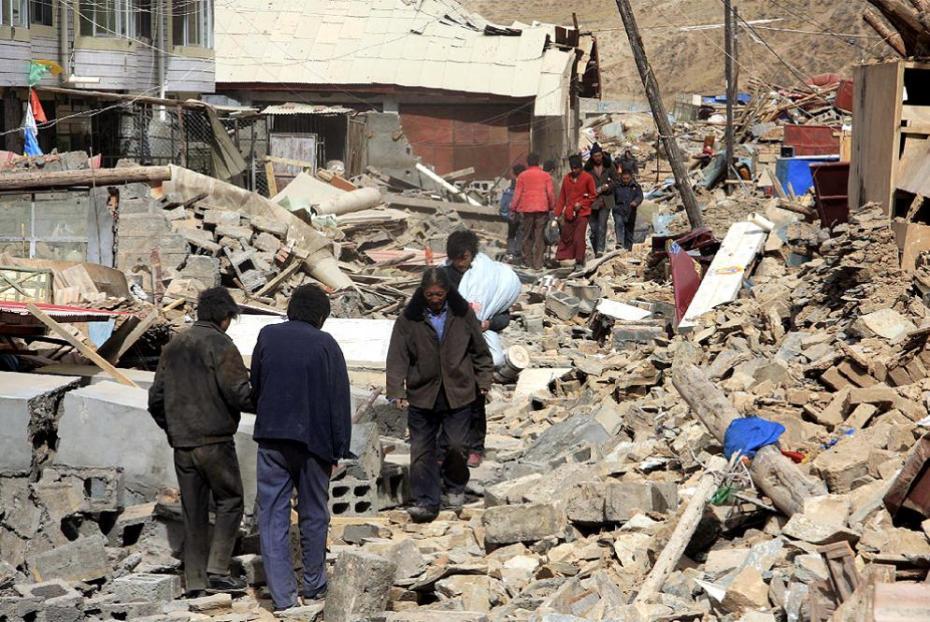 Yushu, Qinghai, Tibet, after the earthquake / después del terremoto