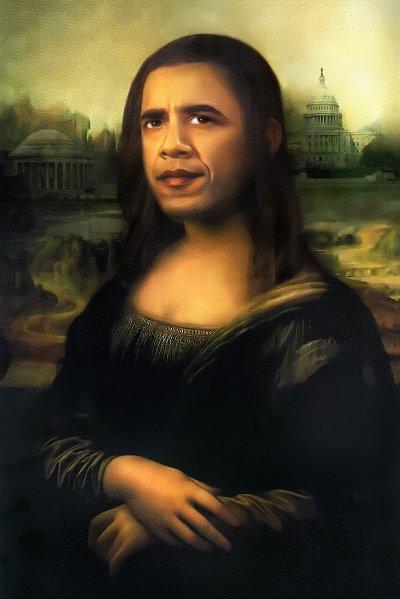 Agradecido, el presidente Obama...