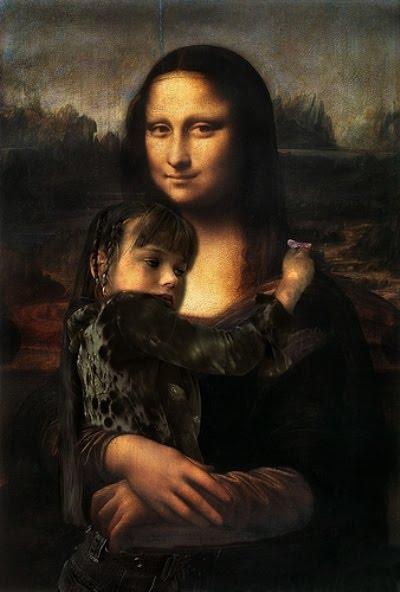 Y Lisa Gherardini viaja de regreso al Louvre.