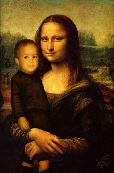 Las familias de París reciben a Lisa...
