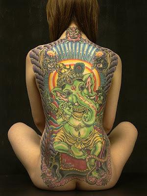 Tattoo Expo Monterrey Mexico Ganesha Hindu Tattoo ganesha tattoos