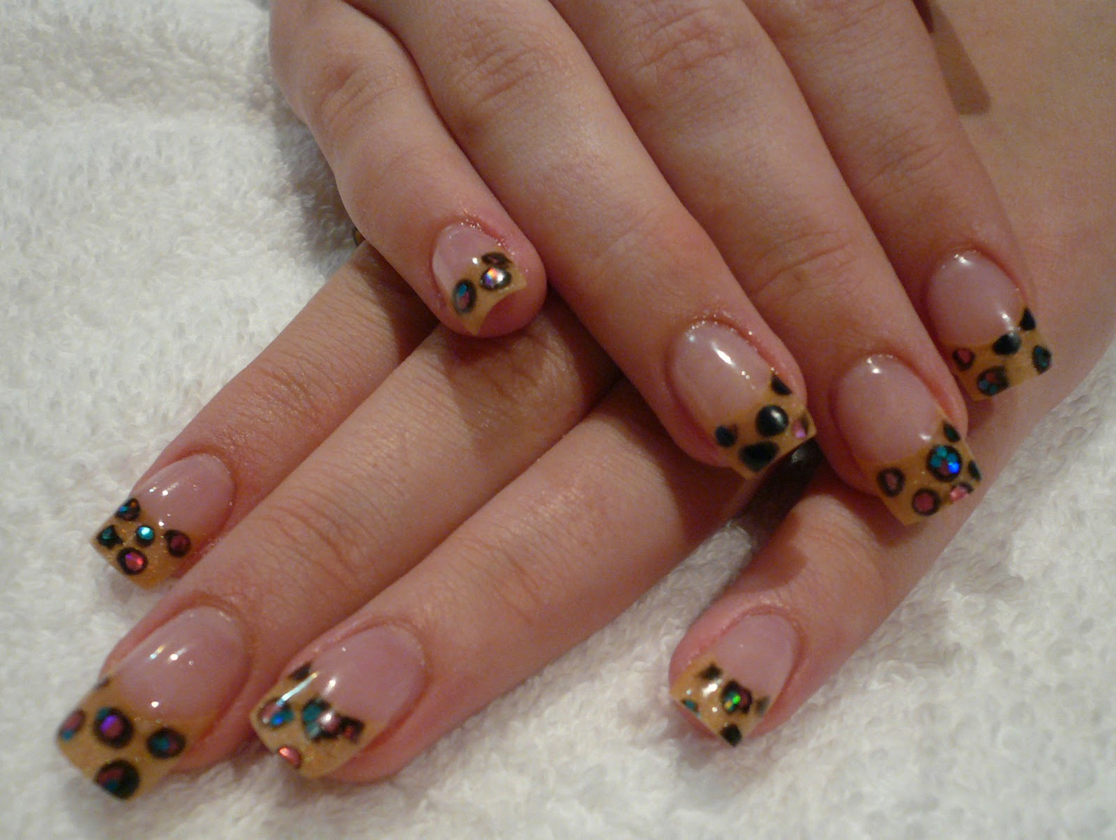 Panache Nail Studio: Leopard Acrylics