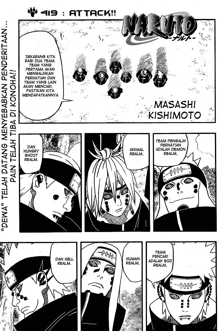 01 Naruto 419   Serang