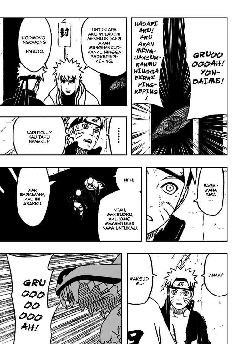 03 Naruto 440   Berbincang dengan Yondaime