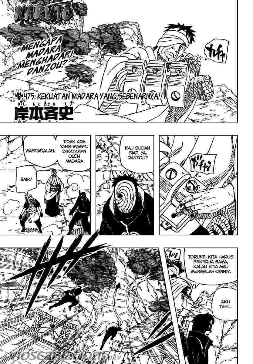 01 Naruto 475   Kekuatan Madara yang Sebenarnya