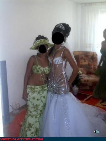 What Were They Thinking Wedding Dress Inspired On Bad Belly Dance
