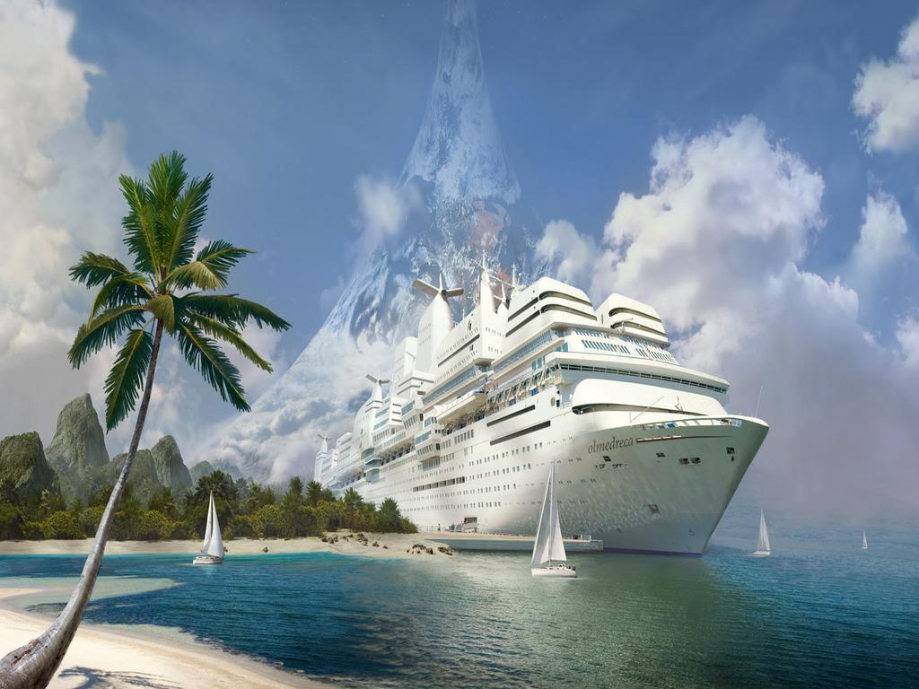 cruise ship wallpaper background - photo #42