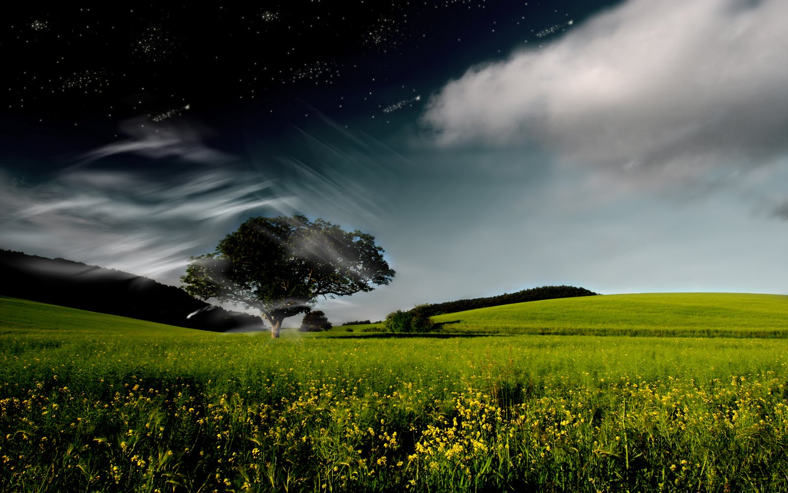 Nature fantasy pictures widescreen hd desktop wallpaper for Wallpaper wallpaper