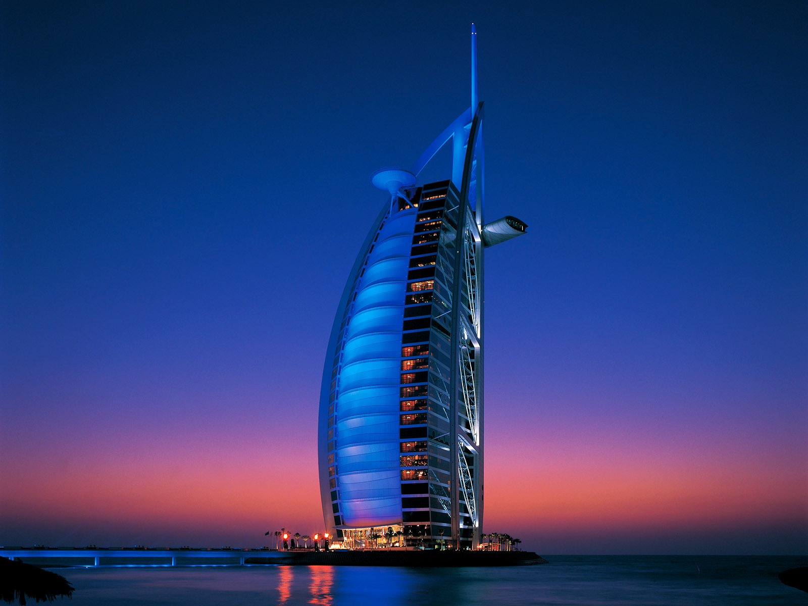 burj al arab hotel dubai hd wallpaper