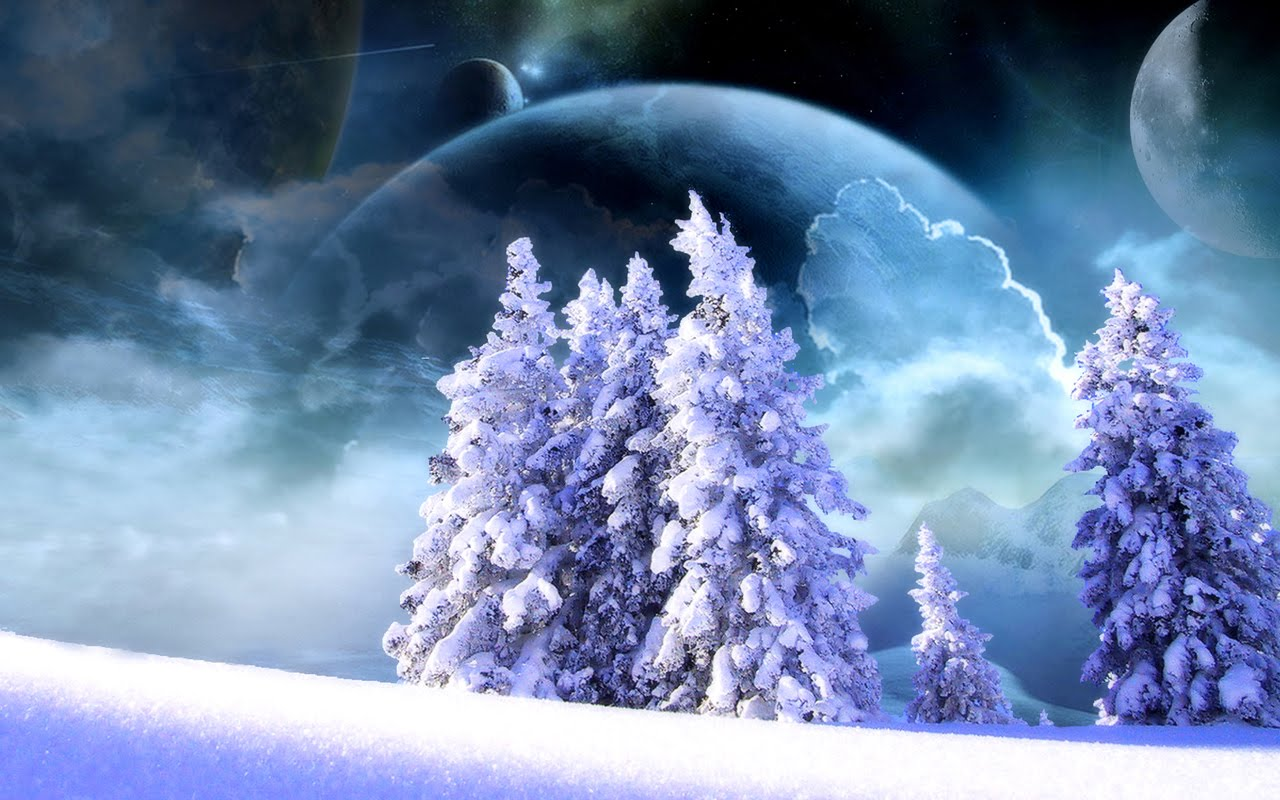 Winter Fantasy   Winter Background