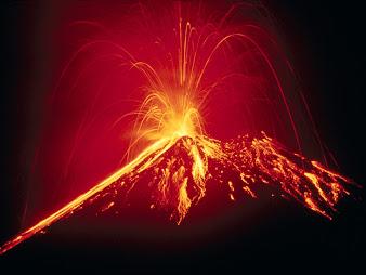 #10 Volcano Wallpaper